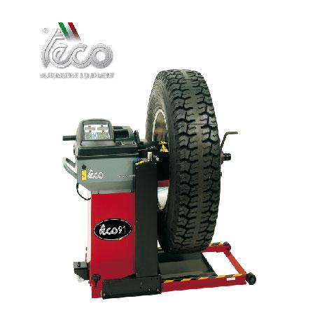 máy cân bằng lốp xe tải ý teco 91
