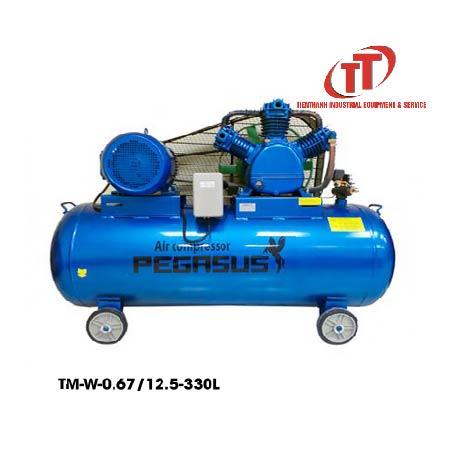 máy nén khí Pegasus 7,5Hp bình chứa 330 Lít